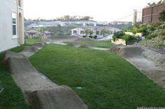 garden with pump track - Google Search