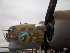 Picture of the Collings Foundation's B-17