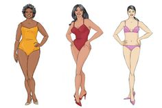 What is your body shape (are you and apple or a pear)? Find out with our easy body shape guide.