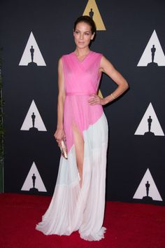 Michelle Monaghan attends the 6th Annual Governors Awards in The Ray Dolby Ballroom at Hollywood & Highland Center® in Hollywood, CA, on Saturday, November 8, 2014.  See more photos here: http://www.redcarpetreporttv.com/2014/11/10/its-official-awards-season-has-started-the-academys-2014-governors-awards-honors-harry-belafonte-maureen-ohara-hayao-miyazaki-and-jean-claude-carriere-theacademy-governorsawards-photos/