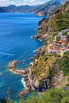 Blue Sea, Cinque Terre, Italy..I will get there someday...hopefully sooner than later...come on lottery