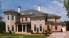 Casa De Caserta House Plan 07194, Front Elevation, Southwestern Style House Plans, Italianate Style House Plans
