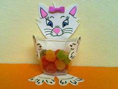 Porta guloseimas em EVA com molde – Para a realização de uma festa infantil em casa, buffet ou na es