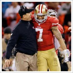 NFL playoffs: Record setting rookie quarterback Colin Kaepernick and his San Francisco pummeled the Green Bay Packers and will play for the NFC Championship next Sunday Nfl Playoffs, Football Team, Football Helmets, Football Baby, Football Season, Sf Niners, Forty Niners, Green Bay Packers, 49ers Vs Packers
