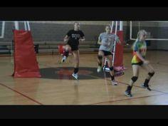 volleyball dynamic warm up oppvarming. fotflytting