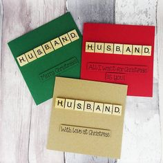 Scrabble Cards, Wooden Scrabble Tiles, Valentine Day Cards, Christmas Cards, Merry Christmas, Anniversary Cards For Couple, Pun Card, Romantic Cards, Wishes Messages