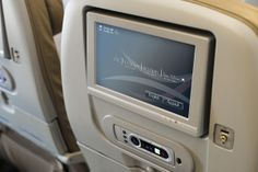 Inflight entertainment on our guest class on #B777_300ER
