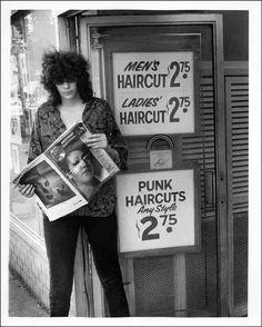 "4817cc2cefbaa They call me The Sexual Dinosaur — Joey Ramone, ""Punk Haircuts Any."