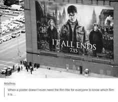 Harry Pitter and the Deathly Hallows Part 2 Poster