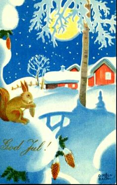 Julekort Olaf Christoffer Mølbach. Utg J.H.Küenholdt A/S