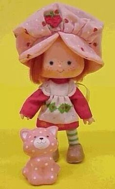 Strawberry Shortcake doll. She still smells like strawberry-quality