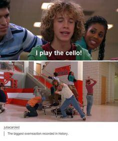 lol I play the cello