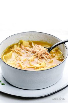 Chicken Noodle Soup Recipe - Add a Pinch Healthy Fried Chicken, Baked Chicken, Instant Pot Chicken Noodle Soup Recipe, Soup Recipes, Chicken Recipes, Chicken Gnocchi, Chicken Appetizers, Pressure Cooker Recipes, Noodles