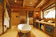 Design serenity #architecture #chalet #bathroom