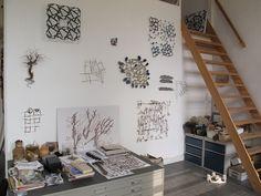 studio envy! Marian Bijlenga