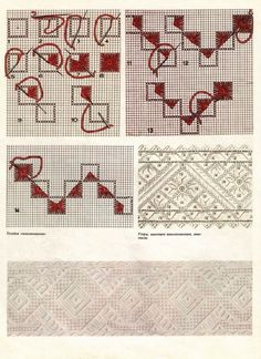 Embroidery Stitches, Hand Embroidery, Machine Embroidery, Filet Crochet, Sewing Crafts, Diy And Crafts, Sewing Patterns, Cross Stitch, Crafty