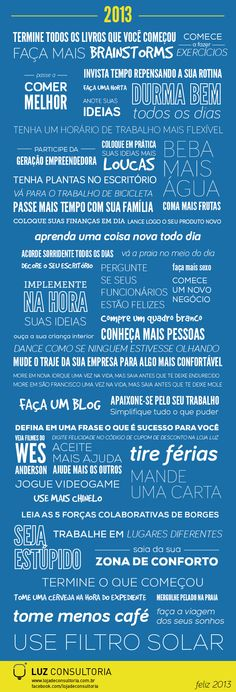 50 Resoluções de Ano Novo para você e sua empresa Anita, More Than Words, Meaningful Words, Illustrations And Posters, Happy New Year, Philosophy, Infographic, Good Things, Messages