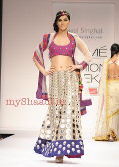 Payal Singhal's Bridal Wear  My Shaadi#bridal wear#india#bridal lehengas#designer bridal outfits#indian wedding