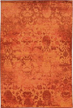 This Expressions Pantone Universe Collection rug is manufactured by Oriental Weavers. A contemporary, crosswoven collection of area rugs inspired by the painterly style of mid-century artists. Yellow Rug, Orange Rugs, Orange Area Rug, Orange Peel, Orange Poppy, Rust Orange, Orange Yellow, Contemporary Area Rugs, Modern Rugs