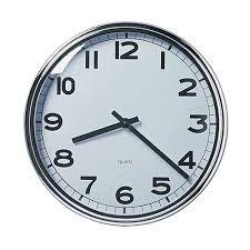 klok voor in elke kamer om te weten hoe laat het is