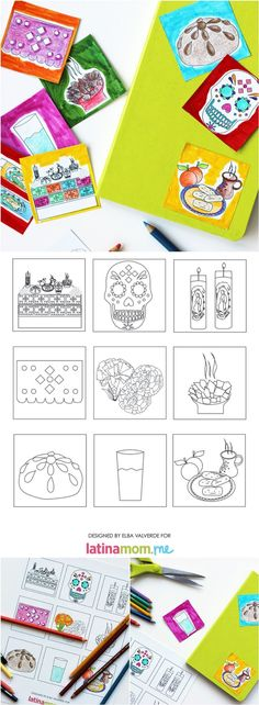 Day of The Dead Printable Stickers - Entertainment Tips & Advice | mom.me