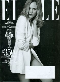 Magazine photos featuring Elle Magazine [United States] November on the cover. Elle Magazine [United States] November magazine cover photos, back issues and newstand editions. Elle Magazine, Magazine Covers, List Of Magazines, Elle Us, Diane Kruger, Love Affair, Vanity Fair, In Hollywood, Cover Photos