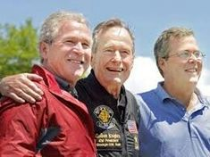 PHOTO: Former President George H. Bush poses with his sons, former President George W. Bush and Jeb Bush after completing a parachute jump in Kennebunkport, June 2009 for his birthday. (Gregory Rec/Portland Press Herald via Getty Images, file) Barbara Bush, Laura Bush, Bush Family, Long Pictures, Trump New, American Presidents, American History, Former President