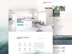 Kontio Log Houses designed by inevio. App Landing Page, Log Houses, Showcase Design, Nalu, App Design, Wordpress Theme, Ecommerce, Design Inspiration, House Design
