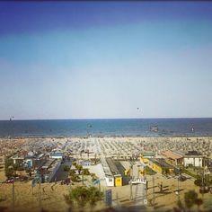 Rimini's beach by @travelsofadam