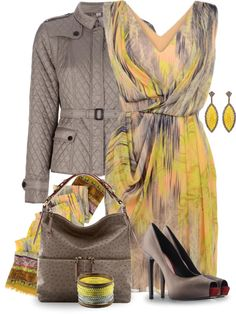 Designer Clothes, Shoes & Bags for Women Dress Outfits, Fashion Outfits, Womens Fashion, Dresses, Casual Chique, Look Fashion, Fashion Design, Professional Outfits, Two Piece Dress