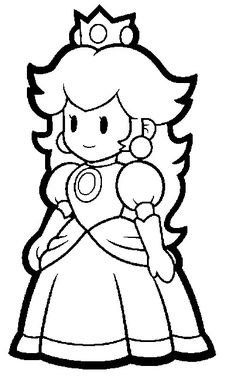 Super Mario Coloring Pages (this site has cute Mario party ideas as well!)