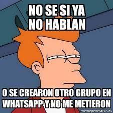 Resultado de imagen para memes sobre grupos de whatsapp   Tarjetas   Pinterest   Meme