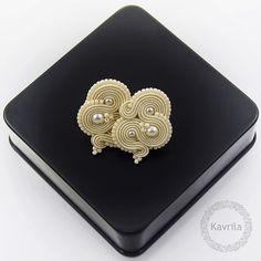 Kavrila - biżuteria autorska . sutasz . soutache: BIŻUTERIA ŚLUBNA