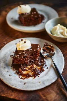 Brownie Sticky Toffee Pudding
