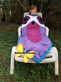 Ravelry: Whooty Owl Snuggle Sack pattern by Betty Lewis