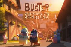 The Dam Keeper, an original animated short film by feature animation artists Robert Kondo and Dice Tsutsumi - artwork Buster Film Festival, Denmark