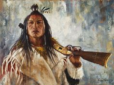 """His Winchester, 2015""  Crow ~ by James Ayers"
