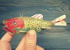 The Collectors: Handmade Ice Fishing Decoys on Etsy