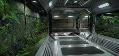 [CE3.6] SPACESHIP Interior