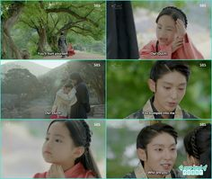 a little girl while running bumped into kimg wang so and how she said ouch king remember Hae Soo - Moon Lovers Scarlet Heart Ryeo - Episode 20 Finale (Eng Sub)