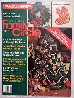 The Nancy Drew Sleuth Unofficial Website Christmas Past, Christmas Stuff, Vintage Crafts, Vintage Stuff, Vintage Christmas Photos, Family Circle, Quick Knits, Christmas Catalogs, Wine