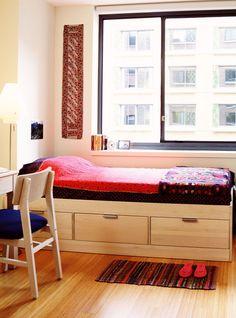This Dorm Room Is So Fancy It's Borderline Absurd+#refinery29