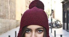 DIY bonnet pompons