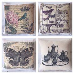 Almohadones Vintage Diseños Exclusivos - $ 119,99 en MercadoLibre Cushions, Pillows, Decorative Boxes, Shabby Chic, Gallery Wall, Cute, Design, Home Decor, Google