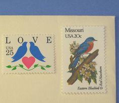Vintage Postal Stamps