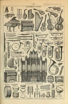 Le Larousse pour tous : Instruments a Cordes