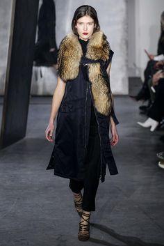 Fur accents: 3.1 Phillip Lim F/W 2015