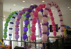 Link o Loon Balloon Arch