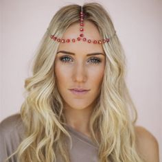 Trendy Beaded Head Jewelry