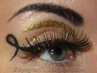 EyeGraffiti #eyeliner with a twist